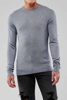 Hollister Blue Core Jumper