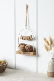 Hedgehog Hanging Decoration
