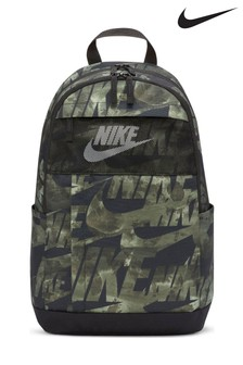 Nike Olive Elemental All Over Print Backpack