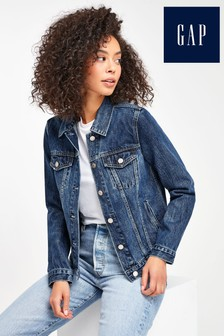 Gap Dark Wash Denim Jacket