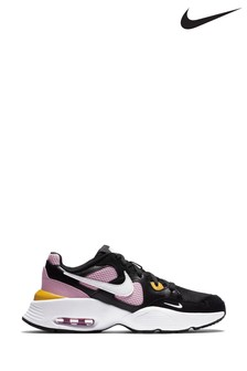 Nike Black/Pink Air Max Fusion Youth Trainers