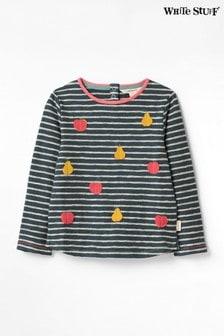 White Stuff Kids Feeling Fruity Stripe Sweater