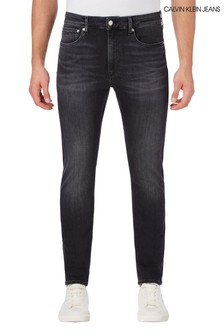 Calvin Klein Black Slim Tapered Jeans