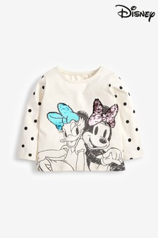 Spot Print Long Sleeve Top (3mths-7yrs)