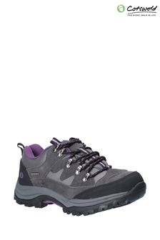 Cotswold Grey Oxerton Low Hiker Boots