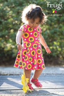 Frugi GOTS Organic Printed Skater Dress