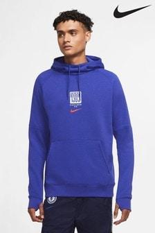 Nike Blue Chelsea Club Hoody
