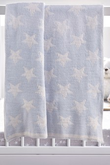 Soft Touch Chenille Star Blanket