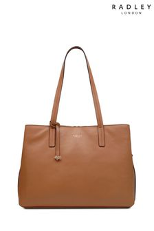 Radley Tan Dukes Place Large Open Top Workbag