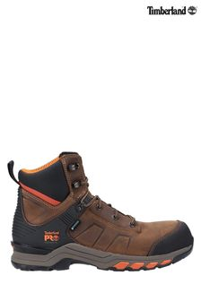 Timberland® Pro Brown Hypercharge Composite Safety Toe Work Boots