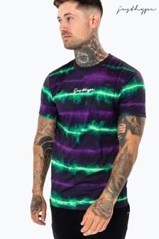 Hype. Mens Multi Neon Vibe T-Shirt
