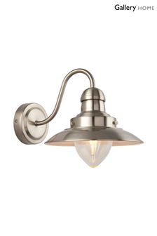 Gallery Direct Silver Theo Wall Light