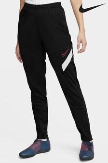 Nike Black/White Academy Pro Joggers