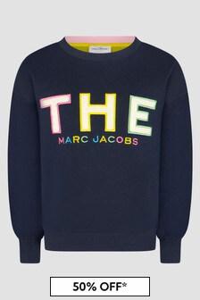 Marc Jacobs Navy Sweat Top