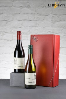 Set of 2 Fabulously French Wine Gift Set by Le Bon Vin