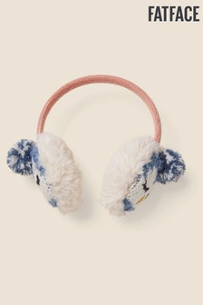 FatFace Blue Penguin Earmuffs