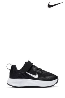 Nike Black/White WearAllDay Infant Trainers