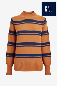 Gap Brown Textured Jumper