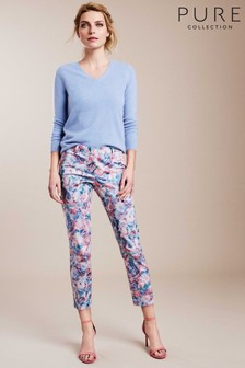 Pure Collection Pink Capri Trousers