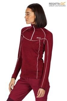 Regatta Purple Womens Yonder Half Zip Fleece