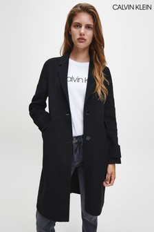 Calvin Klein Double Face Crombie Coat