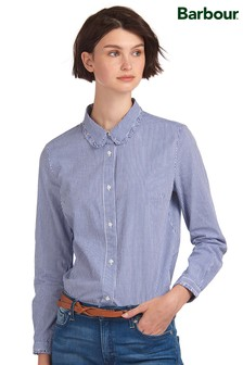 Barbour® Coastal Navy Stripe Peppergrass Shirt