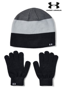 Under Armour Boys Beanie & Gloves Combo