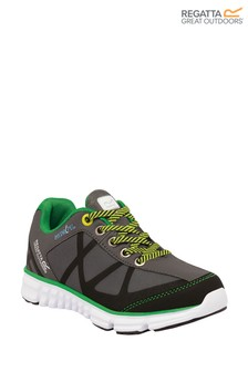 Regatta Grey Hyper-Trail Low Junior Trainers