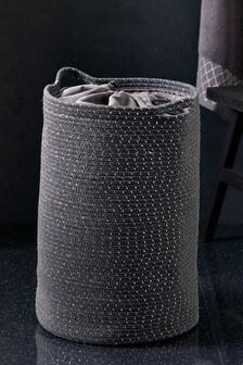 Beaded Rope Laundry Bag