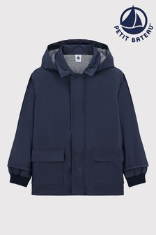 Petit Bateau Navy Raincoat