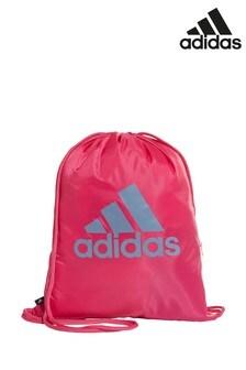 Розовый спортивный мешок adidas Badge of Sport