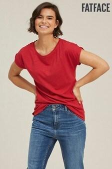 FatFace Red Ivy T-Shirt
