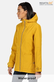 Regatta Yellow Bergonia II Waterproof Jacket