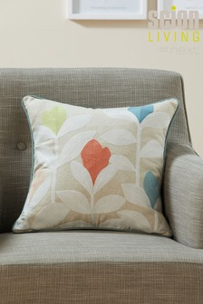 Scion Living Exclusively At Next Padukka Embroidery Cushion