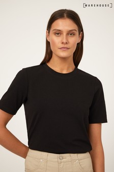 Warehouse Black Premium Short Sleeve T-Shirt