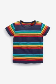 Short Sleeve Stripe T-Shirt (3mths-7yrs)