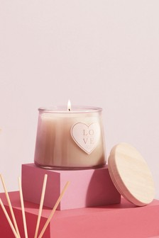 'With Love' Candle