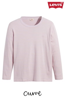 Levi's® Womens Lilac Curve Long Sleeve Baby T-Shirt