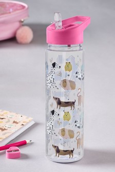 Animal Print Water Bottle