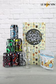 Cheers With Beers Christmas Gift Set by Le Bon Vin