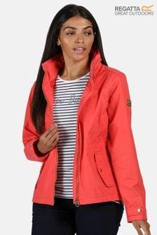 Regatta Red Laurenza Waterproof Jacket