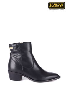 Barbour® International Black Isabel Chelsea Boots