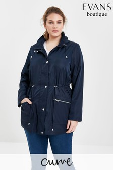 Evans Curve Navy Lightweight Jacket