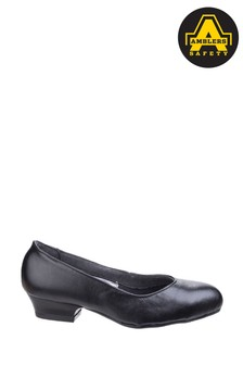 Amblers Safety Black FS96 Womens Safety Court Shoes