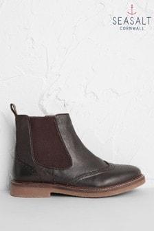 Seasalt Brown Embarking Boots