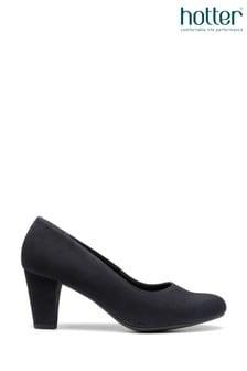 Hotter Blue Joanna Slip-On Court Shoes