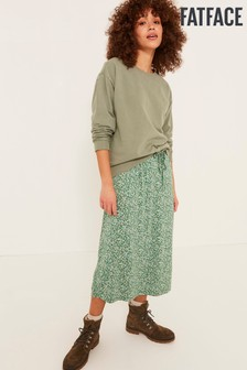 FatFace Green Jennifer Crew Sweat Top