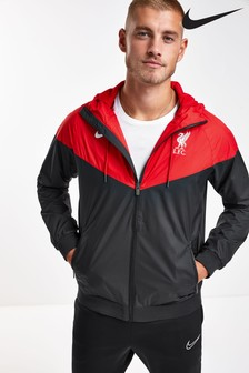 Nike Black Liverpool FC Woven Jacket