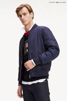 Утепленная куртка-бомбер Tommy Hilfiger