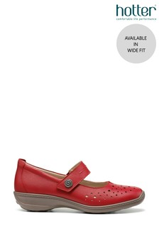 Hotter Ruby Wide Fit Touch Fastening Mary Jane Shoes